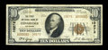 National Bank Notes:Colorado, Cedaredge, CO - $10 1929 Ty. 2 The First NB Ch. # 10272. ...