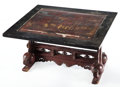 Movie/TV Memorabilia:Memorabilia, A Wooden End Table, 1900s....