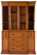 Movie/TV Memorabilia:Memorabilia, A Knotty Pine China Cabinet, 1960s.... (Total: 2 )