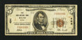National Bank Notes:Maine, Bath, ME - $5 1929 Ty. 1 The Bath NB Ch. # 494. ...
