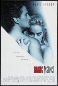 """Basic Instinct Lot (Tri-Star, 1992). One Sheets (2) (27"""" X 40"""" and 27"""" X 41). Thriller. ... (Total: 2 Ite..."""