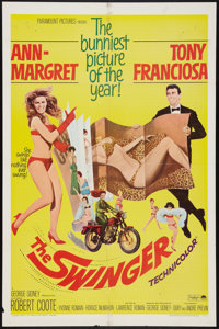 """The Swinger Lot (Paramount, 1966). One Sheets (2) (27"""" X 41""""). Comedy. ... (Total: 2 Items)"""
