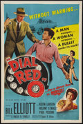 "Movie Posters:Crime, Dial Red O (Allied Artists, 1955). One Sheet (27"" X 41""). Crime....."