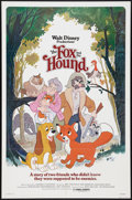 "Movie Posters:Animated, The Fox and the Hound Lot (Buena Vista, 1981). One Sheets (2) (27""X 41""). Animated.. ... (Total: 2 Items)"
