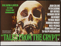 "Tales From the Crypt (Cinerama Releasing, 1972). British Quad (30"" X 40""). Horror"