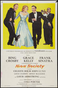 "Movie Posters:Musical, High Society (MGM, 1956). One Sheet (27"" X 41""). Musical.. ..."