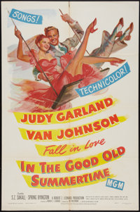 """In the Good Old Summertime (MGM, 1949). One Sheet (27"""" X 41""""). Musical"""