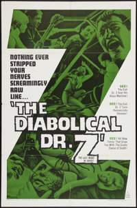 "The Diabolical Dr. Z Lot (U.S. Films Inc., 1966). One Sheets (2) (27"" X 41""). Horror. ... (Total: 2 Items)"