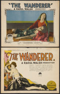 """Movie Posters:Drama, The Wanderer (Paramount, 1925). Title Lobby Card and Lobby Card (11"""" X 14""""). Drama.. ... (Total: 2 Items)"""