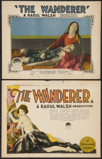 "The Wanderer (Paramount, 1925). Title Lobby Card and Lobby Card (11"" X 14""). Drama. ... (Total: 2 Items)"