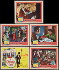 """A Christmas Carol (United Artists, 1951). Title Lobby Card and Lobby Cards (4) (11"""" X 14""""). Drama. ... (Total:..."""