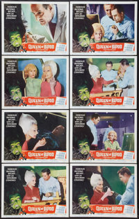"""Queen of Blood (American International, 1966). Lobby Card Set of 8 (11"""" X 14""""). Horror. ... (Total: 8 Items)"""