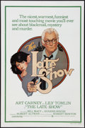 """Movie Posters:Crime, The Late Show (Warner Brothers, 1977). One Sheet (27"""" X 41"""") and Lobby Card Set of 8 (11"""" X 14""""). Crime.. ... (Total: 9 Items)"""