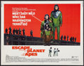 "Movie Posters:Science Fiction, Escape from the Planet of the Apes (20th Century Fox, 1971). HalfSheet (22"" X 28""). Science Fiction.. ..."