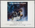 "Movie Posters:Science Fiction, The Empire Strikes Back (20th Century Fox, 1980). Half Sheet (22"" X28"") Style A. Science Fiction.. ..."