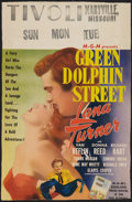 "Movie Posters:Adventure, Green Dolphin Street (MGM, 1947). Window Card (13.25"" X 20.25"").Adventure.. ..."