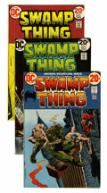 Bronze Age (1970-1979):Horror, Swamp Thing Group (DC, 1972-75) Condition: Average VF/NM....(Total: 7 Comic Books)