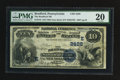 National Bank Notes:Pennsylvania, Bradford, PA - $10 1882 Date Back Fr. 545 The Bradford NB Ch. #(E)2428. ...