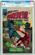Silver Age (1956-1969):Superhero, Daredevil #26 Twin Cities pedigree (Marvel, 1967) CGC NM/MT 9.8White pages....