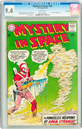 Silver Age (1956-1969):Science Fiction, Mystery in Space #84 Twin Cities pedigree (DC, 1963) CGC NM 9.4White pages....