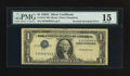 Error Notes:Inverted Third Printings, Fr. 1614 $1 1935E Silver Certificate. PMG Choice Fine 15.. ...