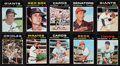Baseball Cards:Sets, 1971 Topps Baseball Mid To High Grade Partial Set (550/752) With 91 High Numbers. ...