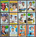 Baseball Cards:Sets, 1969 Topps Baseball Mid To High Grade Partial Set (340/664). ...