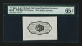 Fractional Currency:First Issue, Fr. 1313SP 50¢ First Issue Wide Margin Back PMG Gem Uncirculated 65 EPQ.. ...