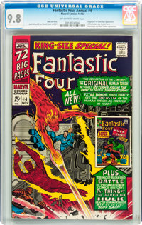 Fantastic Four Annual #4 (Marvel, 1966) CGC NM/MT 9.8 Off-white to white pages