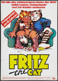 "Movie Posters:Animated, Fritz the Cat (20th Century Fox, 1973). German A1 (23"" X 33""). Animated.. ..."