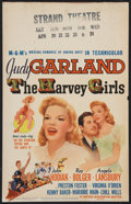 """Movie Posters:Musical, The Harvey Girls (MGM, 1945). Window Card (14"""" X 22""""). Musical.. ..."""