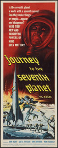 "Movie Posters:Science Fiction, Journey to the Seventh Planet (American International, 1961).Insert (14"" X 36""). Science Fiction.. ..."