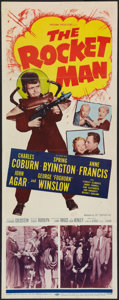 "Movie Posters:Science Fiction, The Rocket Man (20th Century Fox, 1954). Insert (14"" X 36"").Science Fiction.. ..."