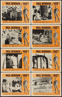"Hud (Paramount, 1963). Lobby Card Set of 8 (11"" X 14""). Drama. ... (Total: 8 Items)"