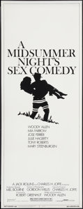 "Movie Posters:Comedy, A Midsummer Night's Sex Comedy (Orion, 1982). Insert (14"" X 36"").Comedy.. ..."