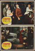 """Movie Posters:Comedy, A Lady Takes A Chance (Ambassador, Late 1940s). First Post War Italian Photobustas (4) (13.25"""" X 19""""). Comedy.. ... (Total: 4 Items)"""