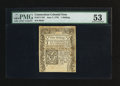 Colonial Notes:Connecticut, Connecticut June 7, 1776 1s PMG About Uncirculated 53.. ...