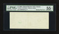 Fr. 1921-F $1 1995 Federal Reserve Note. PMG About Uncirculated 55 EPQ