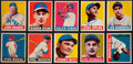 Baseball Cards:Sets, 1948-49 Leaf Baseball Collection (49) With HoFers. ...