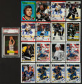 Hockey Cards:Lots, 1950's-1990's Multi-Brand Hockey Card Collection (225+) Plus TwoBasketball cards. ...