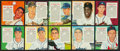 Baseball Cards:Lots, 1955 Red-Man Tobacco Baseball Collection (14) - With Stars andHoFers. ...