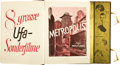 "Movie Posters:Miscellaneous, UFA Exhibitor Book (UFA, 1925-1926). Exhibitor Book (180 Pages, 9""X 12"").. ..."
