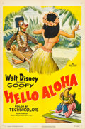 "Movie Posters:Animated, Hello Aloha (RKO, 1952). One Sheet (27"" X 41"").. ..."