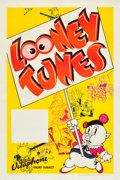 "Movie Posters:Animated, Looney Tunes (Warner Brothers, 1937-1938). Stock One Sheet (27"" X 41"").. ..."