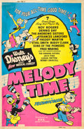 "Movie Posters:Animated, Melody Time (RKO, 1948). Poster (40"" X 60"") Style Z.. ..."