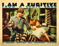 "Movie Posters:Film Noir, I Am a Fugitive From a Chain Gang (Warner Brothers, 1932). Lobby Card (11"" X 14"").. ..."