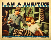 "I Am a Fugitive From a Chain Gang (Warner Brothers, 1932). Lobby Card (11"" X 14"")"