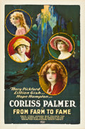 "Movie Posters:Drama, From Farm to Fame (United Artists, 1922). One Sheet (27"" X 41"").. ..."