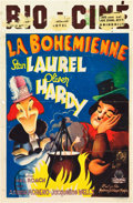 """Movie Posters:Comedy, The Bohemian Girl (MGM, 1945). Belgian First-Release Poster (11"""" X16.75"""").. ..."""