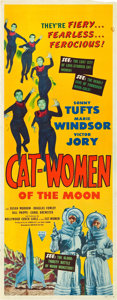 "Movie Posters:Science Fiction, Cat-Women of the Moon (Astor Pictures, 1954). Insert (14"" X 36"")....."
